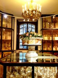 1-18 Habsburg silver and centerpiece
