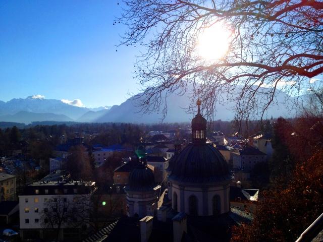 Salzburg from Hohensalzburg fortress